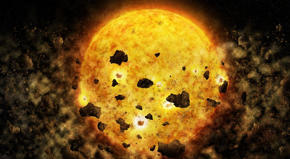 Young Star Devouring Two Newborn Planets Observed For The First Time