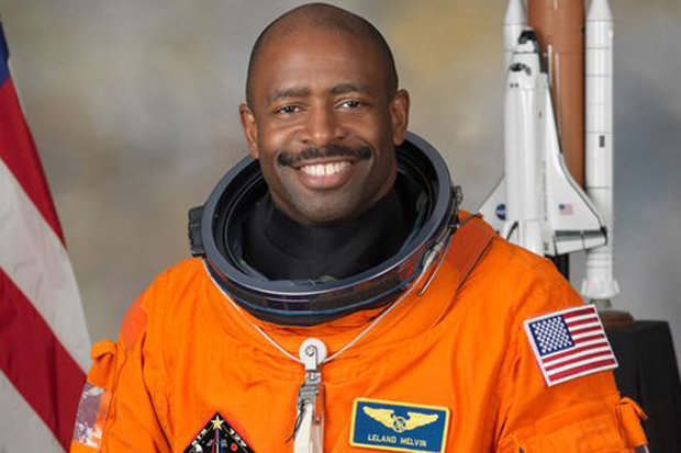 Ex-NASA Astronaut, Leland Melvin, Said He Saw An Organic Alien-Like Being Floating In Space