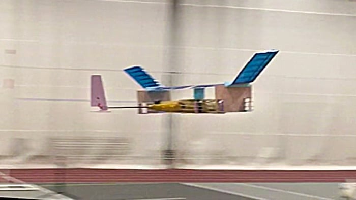 Researchers Manage to Build a Plane that Flies Without Moving Parts