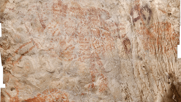 The Oldest Cave Painting In The World Found In Borneo, And Is About 40,000 Years Old