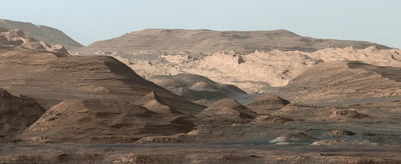 Curiosity Prepares to Move to a New Location