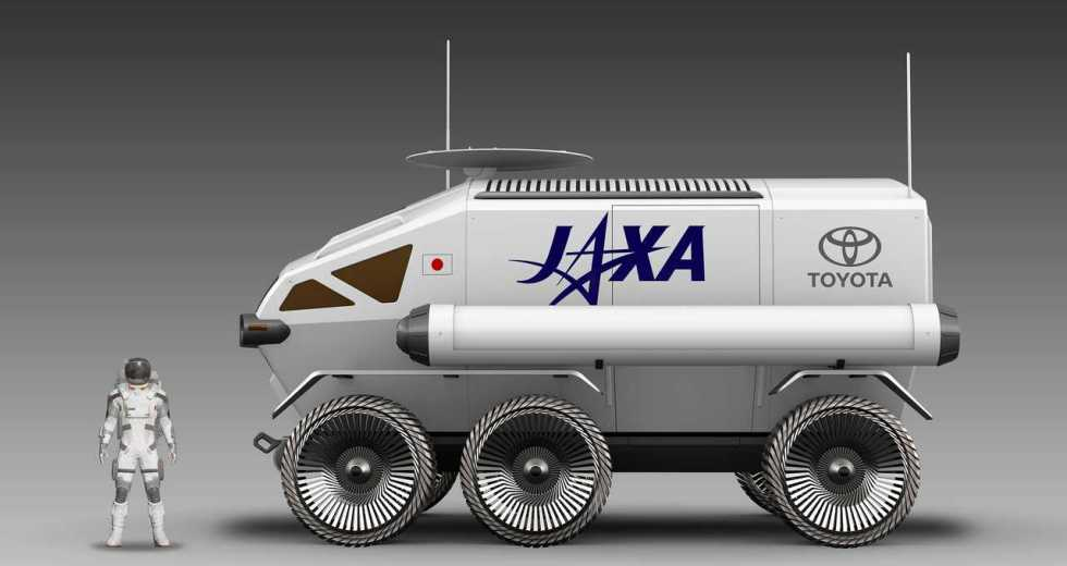 Toyota Builds A Lunar Rover In Collaboration With JAXA For A Future Moon Mission
