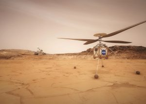 NASA's Mars Helicopter Successfully Passed Its First Tests