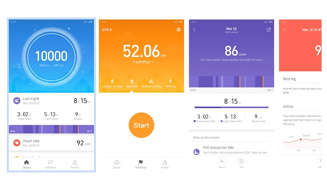 Mi Fit 3.6.0 App Update Available with Support for Multiple Devices