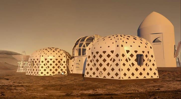NASA Presented Top-Three Designs For Mars Habitats