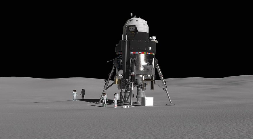 The Next Lunar Lander to be Built by Lockheed Martin
