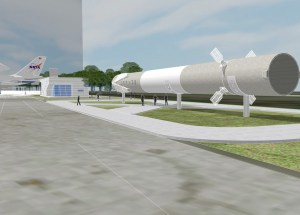 Old SpaceX Falcon 9 Rocket Donated to Space Center Huston