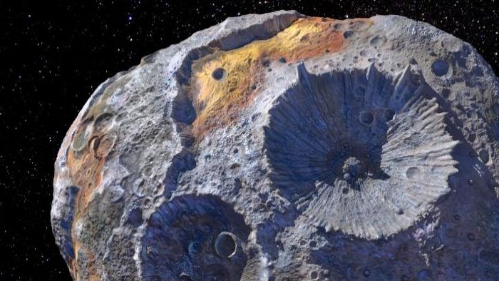 """NASA To Survey """"Golden"""" Asteroid 16 Psyche With A Mission In 2022"""