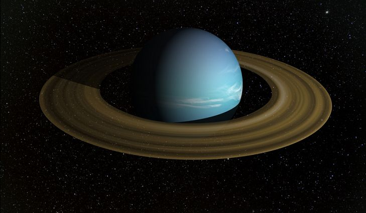 Uranus' rings have a surprising glow in heat images