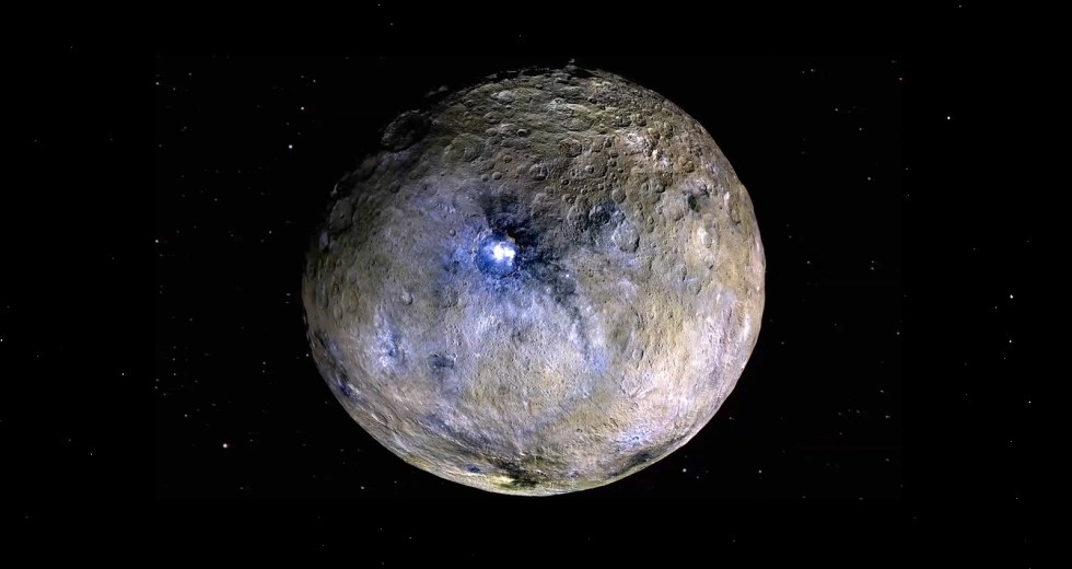 The Dwarf Planet Ceres was Discovered to have an Enormous Mountain