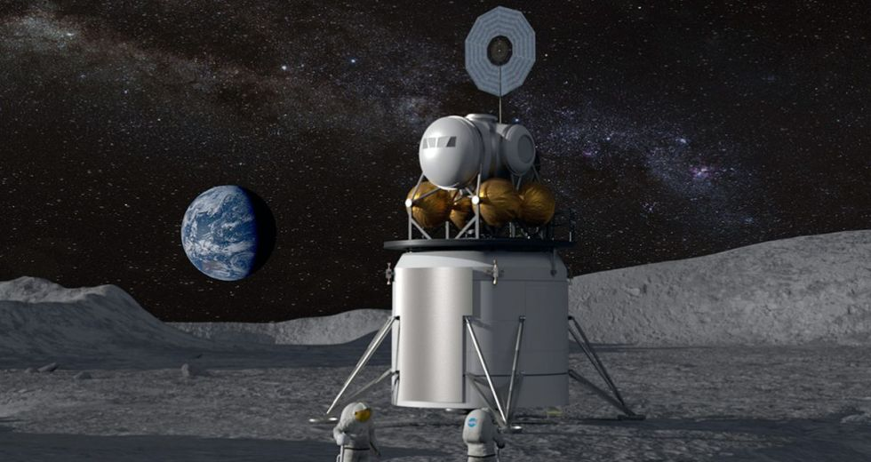 NASA's Artemis Moon Lander Will Be Built At Marshall Space Flight Center