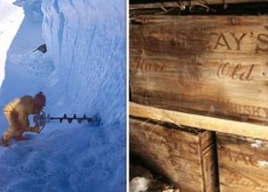 Antarctica: They Found Bottles of Scotch Under the Ice; No One Knows the Recipe
