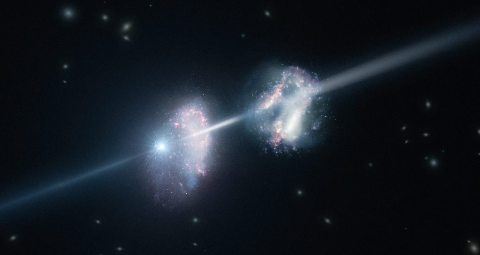 Gamma Radiation Was Detected In Two Star-Forming Galaxies
