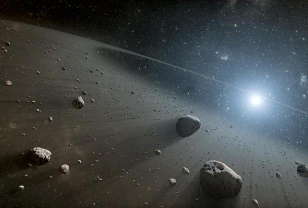 Asteroid Skews Earth's Atmosphere