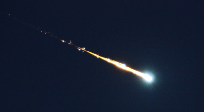 Fireballs Lit Up The Night Skies over Belgium And Germany