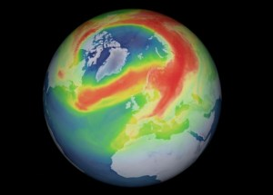 The Most Massive Ozone Layer Hole over the Arctic Has Just Closed