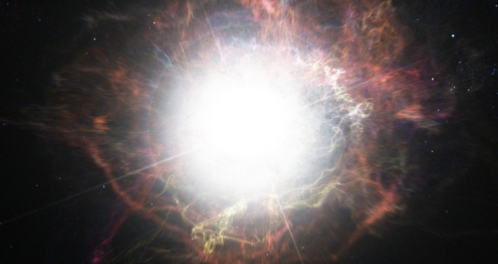 'Partial Supernova' Blasts Away White Dwarf Star that Defies Standard Model