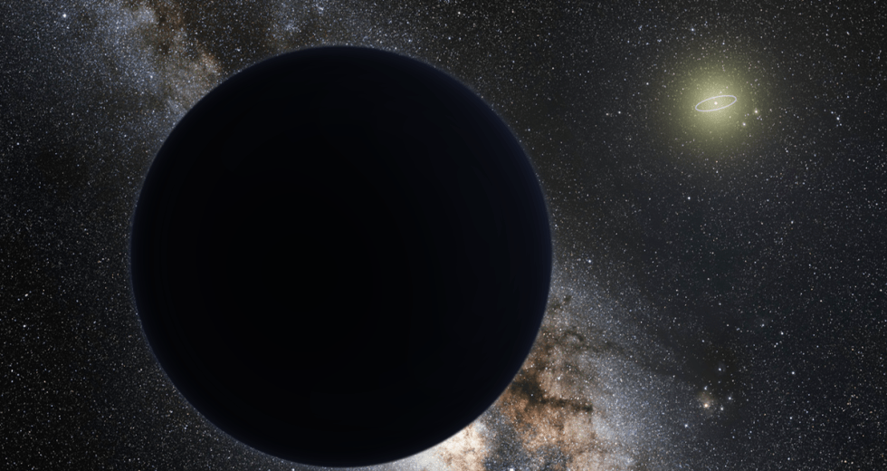 Planet 9: A Black Hole in our Solar System?