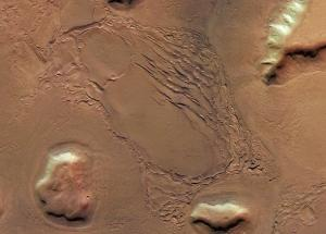 Glaciers On Mars Are Testimony To The Planet's Numerous Ice Ages