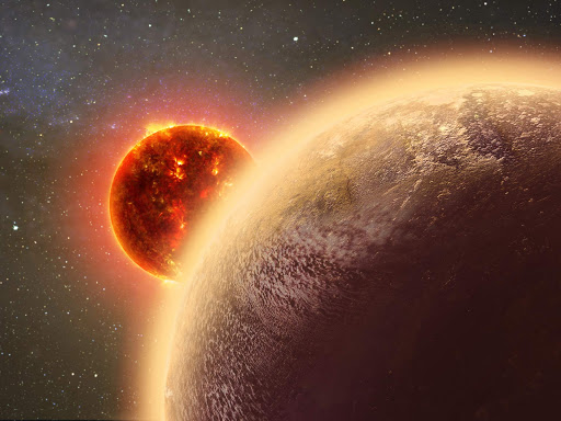 Hubble Finds Clues of Earth-Sized Exoplanet Losing Its Atmosphere