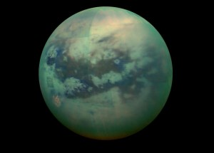 Recreated Particles of Titan's Haze May Help Scientists Understand How Life Started On Our Planet