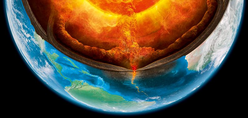 Earth's Mantle Has an Oceanic Crust, New Study Finds
