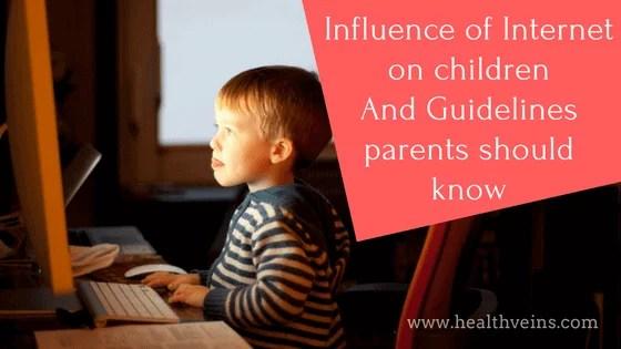 Influence of internet on children