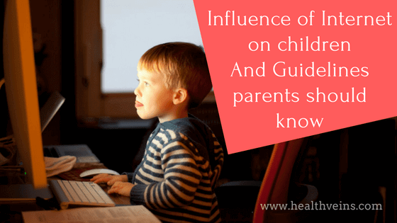 Influence of internet on children