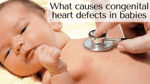 what causes congenital heart defects in babies