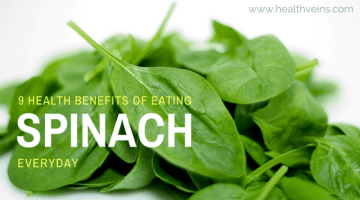 9 Health benefits of eating spinach everyday