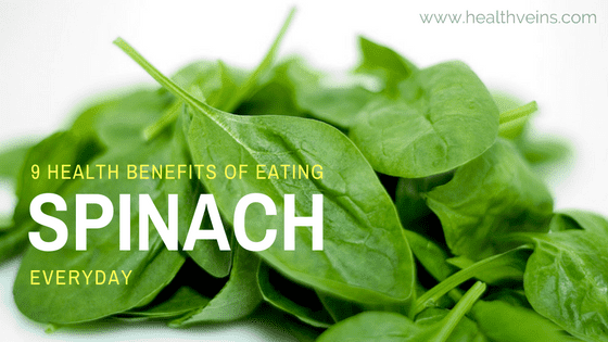 Health benefits of eating spinach everyday