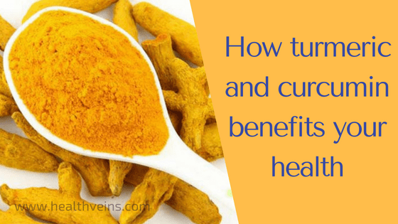 How turmeric and curcumin benefits for health