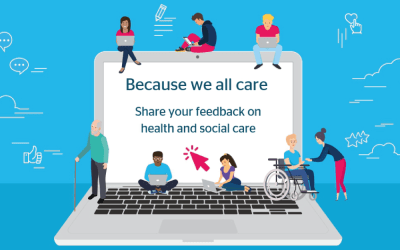 Healthwatch Gloucestershire launches #BecauseWeAllCare campaign, calling on local people to feedback about care during COVID-19 to help services improve