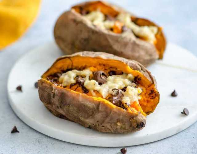 Chunky Monkey Sweet Potatoes Will Make Your Taste Buds Rejoice