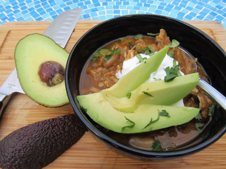 Slow Cooker Chicken White Bean Pumpkin Chili Healthy Inspiration
