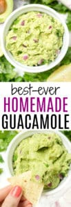 Here's how to make the BEST homemade guacamole!