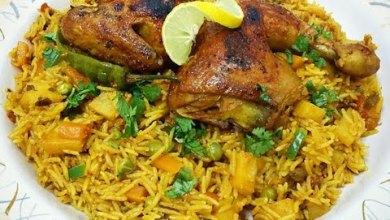 Photo of طريقة عمل الكبسة بالخضار سهلة وصحية في رمضان