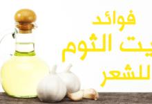 Photo of فوائد زيت الثوم للشعر
