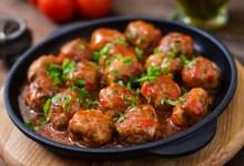 Photo of طبق كرات اللحم بالباربكيو وصينية البطاطس بالباشاميل سهل وخفيف