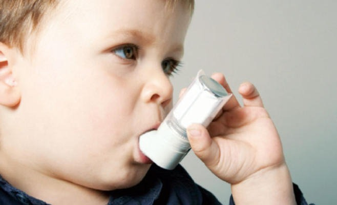 علاج أزمة الربو عند الأطفال