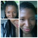 Aug.2.2014 - 2 days prior to taking out braids