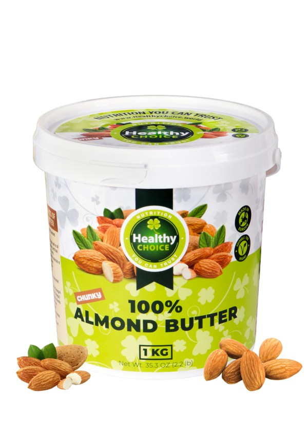"""Almond butter """"Healthy Choice"""" 1Kg"""
