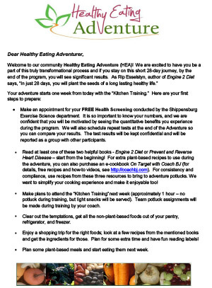 Welcome to the Healthy Eating Adventure community. Read on to learn more.