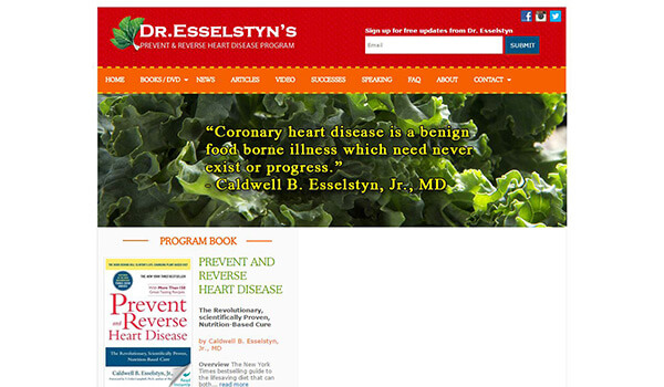 A groundbreaking program backed by the irrefutable results from Dr. Esselsty's 20-year study.