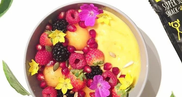 Smoothie – bowl banane & mangue