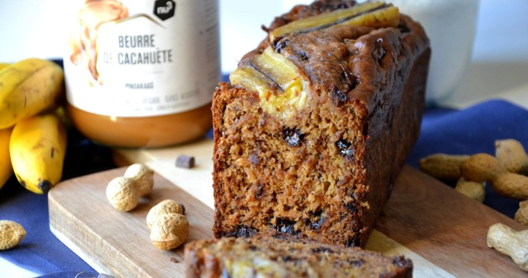 Bananabread au peanut butter