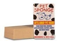Pet Sponge Works Like an Eraser to Remove Hair, Dust, and Much More!