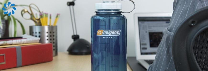 Nalgene plastic bottle