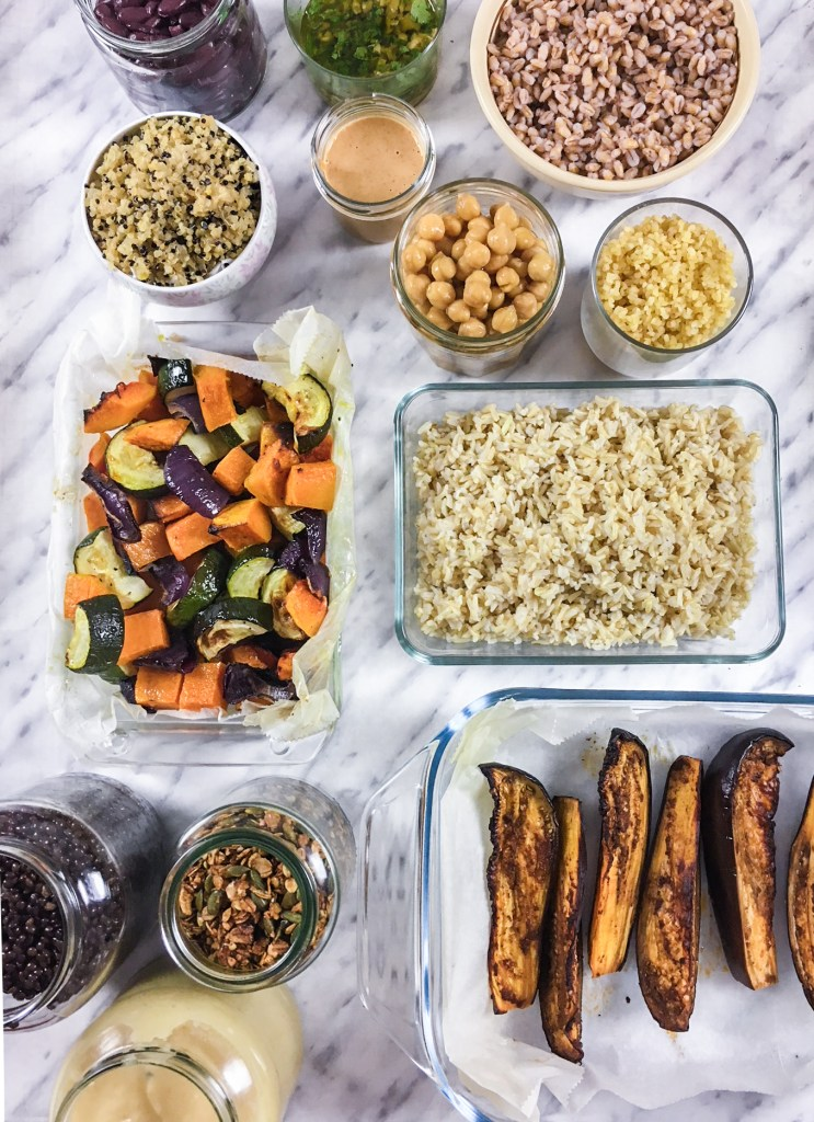 preparación de menús saludables