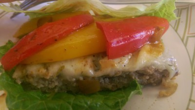 """Green Style"" Turkey Burgers"